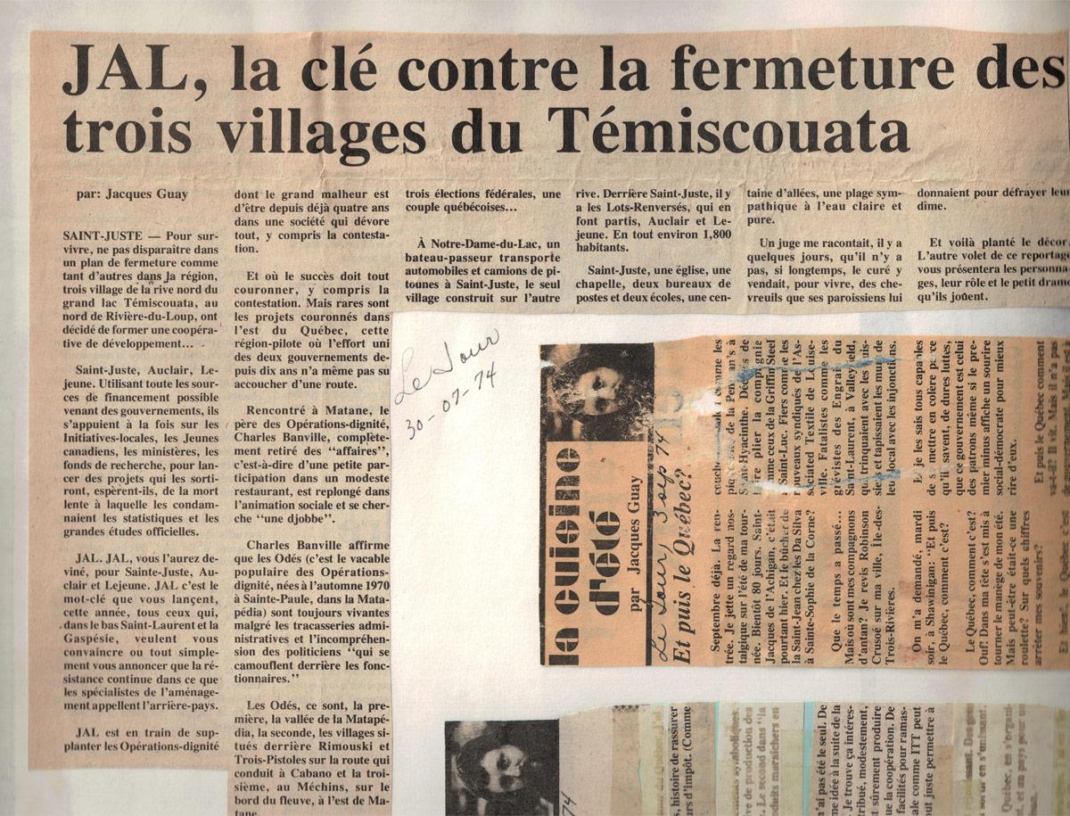 JAL, la clé contre la fermeture des trois villages