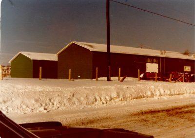 Projet pommes de terre - entrepôts 1980
